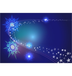 abstract stars vector image vector image