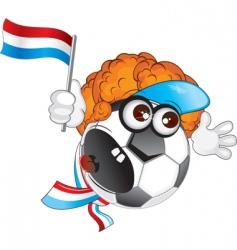 holland cartoon vector image vector image
