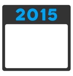 2015 Plan Icon vector