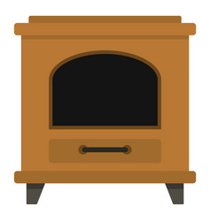 ancient oven icon cartoon style vector image