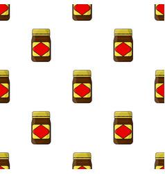 Australian food spread icon in cartoon style vector