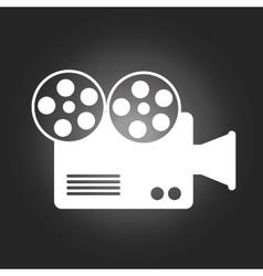 Camera film vector