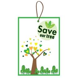 Environmental badges vector image