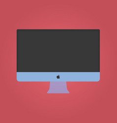 Imac for your lading vector