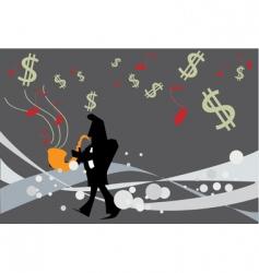 Music money vector