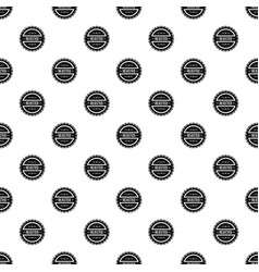 Rejected pattern seamless vector