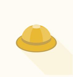safari hat icon vector image