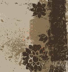 abstract traced background vector image