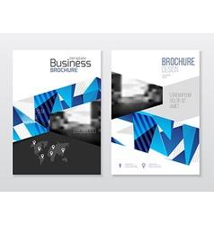 Business Brochure design Annual report temp vector
