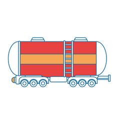 Cargo tank icon vector