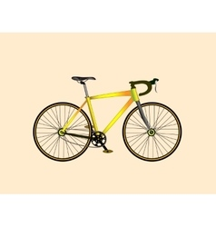 Classic sport Bicycle vector