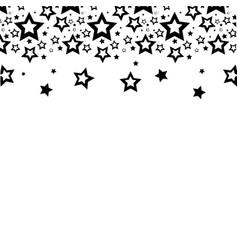 Contour stars christmas decoration backgroud vector