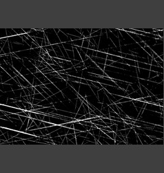 Detailed grunge scratched texture vector