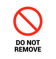 Do not remove plug sign icon forbidden remove vector
