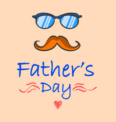 Father day celebration vector