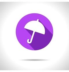 umbrella icon Eps10 vector image