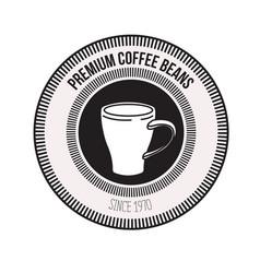 White background of logo design of decorative vector