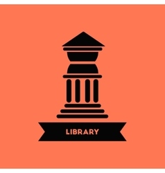 Library building vector