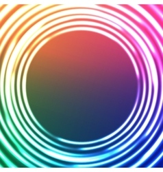 Light Circles Abstract Background Astral vector image vector image
