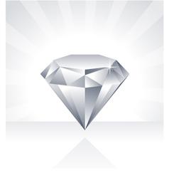 Shiny Diamond vector image vector image