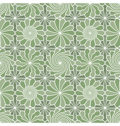 meadow pattern vector image vector image