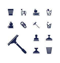 13 supplies icons vector