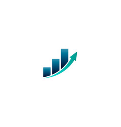 Business finance bar profit vector