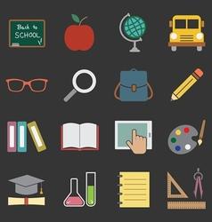 education icon vector image