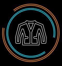 jacket isolated vector image