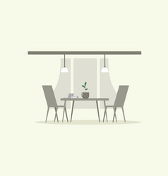 modern office interior creative co-working vector image