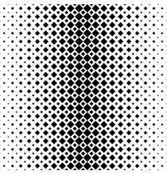 monochromatic abstract square pattern background vector image