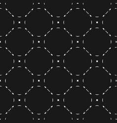 Monochrome seamless pattern subtle background vector