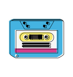 music old cassette vector image