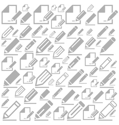 Pencil a background vector image