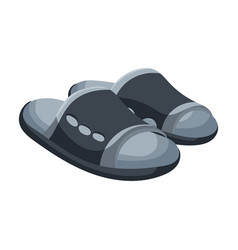 Sandal iconcartoon icon isolated on vector