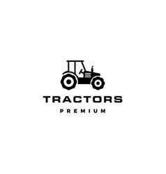 tractor logo icon vector image
