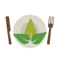 vegetarian food diet health vector image