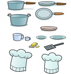 cooking implements vector image vector image