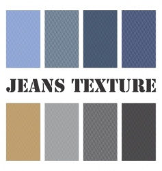 jeans texture seamless vector image vector image