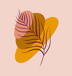 Abstract aesthetic spring or summer vector