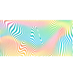 abstract color blend background holographic vector image