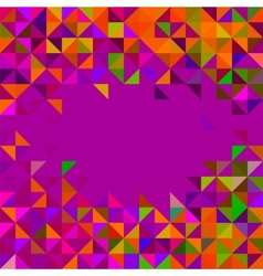 Abstract Geometric Background Trendy Mosaic vector image