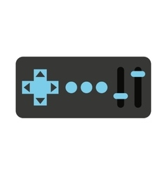 control remote drone isolated icon design vector image