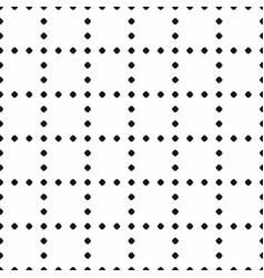 Minimal monochrome geometric seamless pattern vector