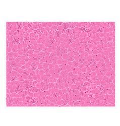 pink curl texture vector image