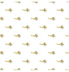 biplane pattern vector image