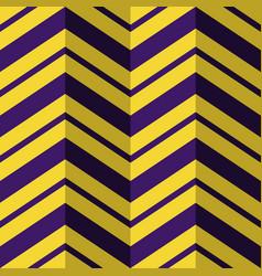 seamless pattern purple yellow zig zag background vector image vector image