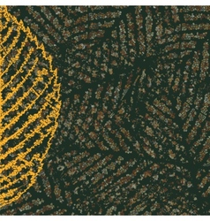 skeleton leaves background vector image vector image