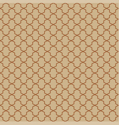 abstract pattern in arabian style seamless vector image vector image