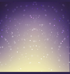 Abstract background snow falling against purple vector